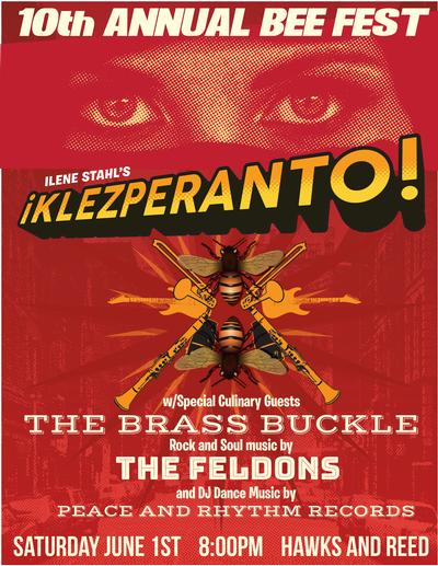 Klezperanto Blooms at Night, Sat, Jun 1, 2019 - ¡Klezperanto!